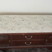 Value of a Lane Cedar Chest - chest with upholstered top