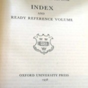 Value of the Oxford Junior Encyclopedia  - cover page