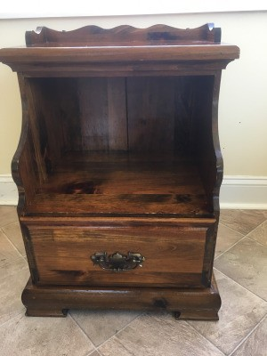 Identifying a Night Stand - possible vintage nightstand