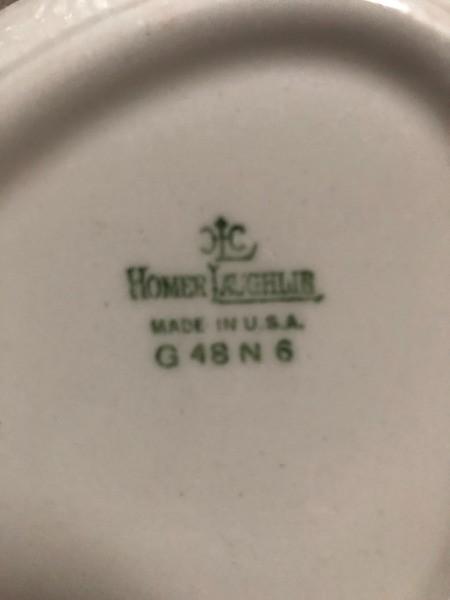 Identifying Homer Laughlin China