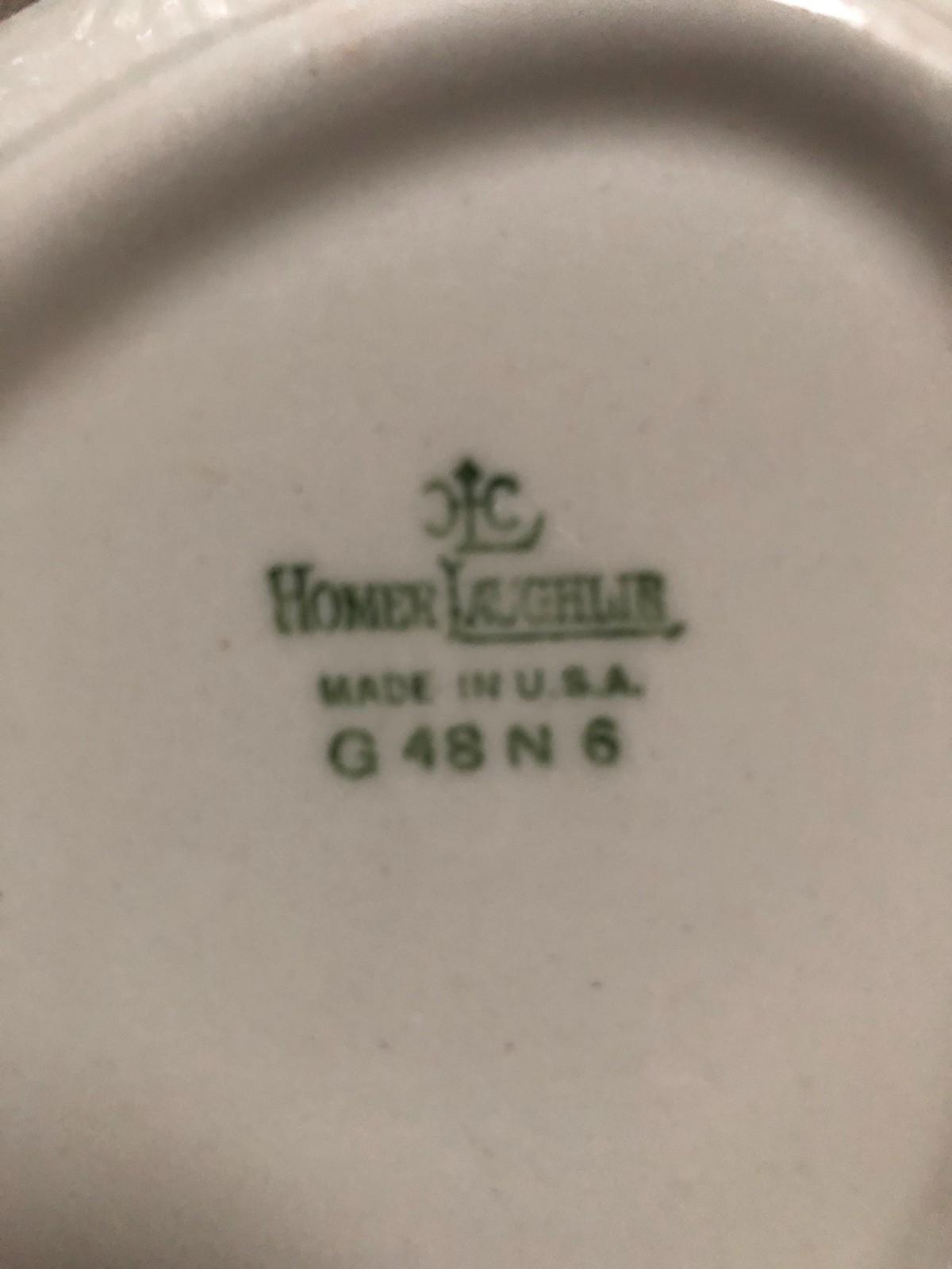 Finding the Value of Homer Laughlin Dinnerware | ThriftyFun
