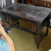 Value of a Mersman Table - vintage table with drawer removed