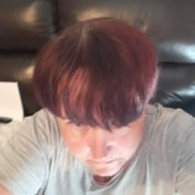 Re-dyeing Hair After Removing Color - hair dyed red