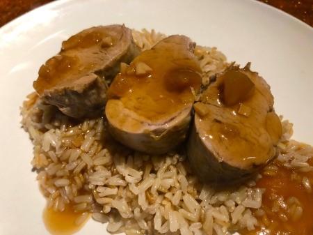 Instant Pot Orange Pork Tenderloin