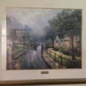 Value of a Thomas Kinkade Print   - framed print