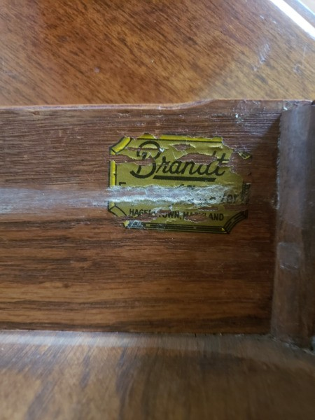 Value of a Brandt Furniture Drop Leaf Table