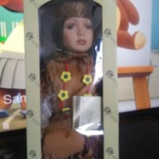 Value of a Kinnex Porcelain Doll - Native American doll in its box