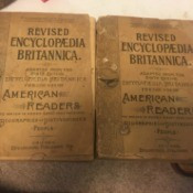 Value of Volume 18 of the 1891 Revised Encyclopaedia Britannica - two copies of this volume