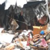 Finding Free Furniture After a House Fire - damage