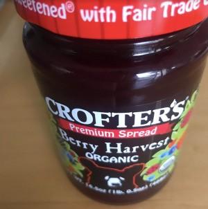 A jar of jam.