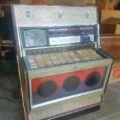 Value of a 1969 Rowe AMI MM3 Jukebox - jukebox in garage