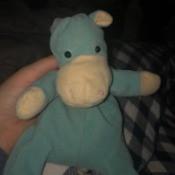 Identifying a Plush Hippo Toy - blue hippo