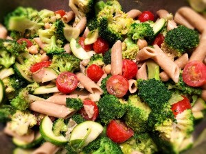 finished Lemon Tahini Broccoli Salad
