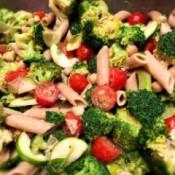 finished Lemon Tahini Broccoli Salad