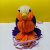 Yarn Bird - frontal view