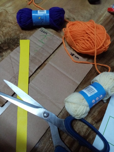 Yarn Bird - supplies