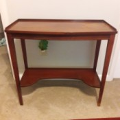 Value of an Antique Mersman Sewing Table