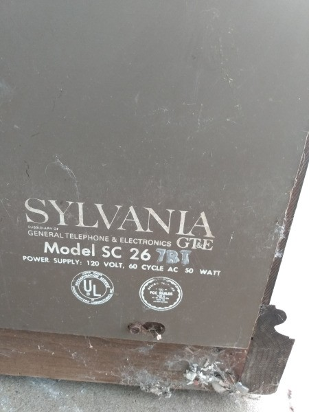 Value of Sylvania Console Stereo System