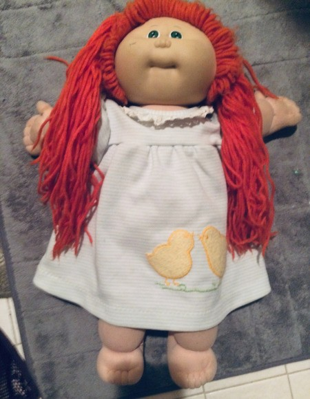 Value of a Cabbage Patch Koosa Doll
