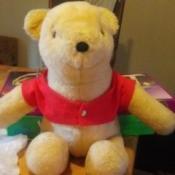Information on a Stuffed Pooh Bear - generic Pooh Bear stuffy