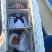 Value of Hillview Lane Porcelain Dolls - doll wearing a sailor suit in the box