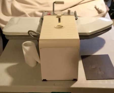 Manual for a Magic Steam Press Model MSP7 - steam press