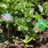 Bead Flower Decor for Garden - two flowers in the garden