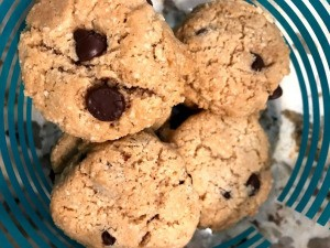 Chocolate Chip Cashew and Coconut Cookies