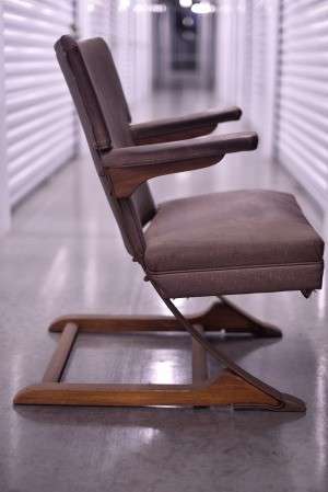 Identifying a Flexible Leg Rocking Chair - side view of the chair