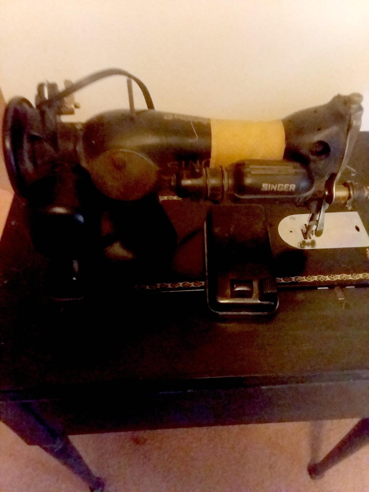 Value of a Vintage Singer Sewing Machine?   ThriftyFun