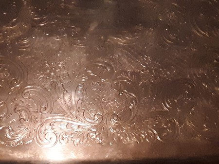 Determining the Value of a Silver Tray
