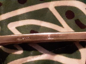 Value of an Eales 1779 Silver Ladle - markings