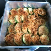 Baked Zucchini in pan