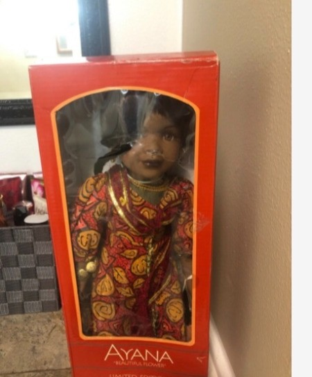 Value of a Limited Edition Ayana Porcelain Doll