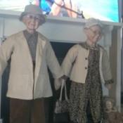 Value of Goldenvale Porcelain Dolls - elderly couple dolls