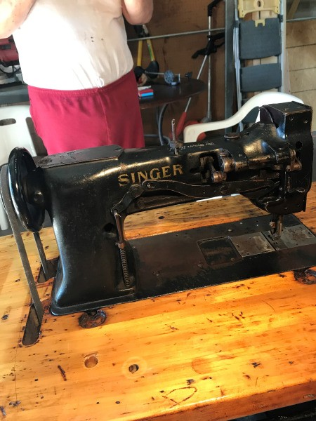 Age of a Singer Industrial Sewing Machine