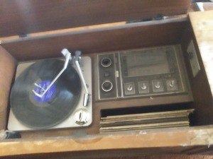 Value of a Victrola Console Stereo System - turntable and radio