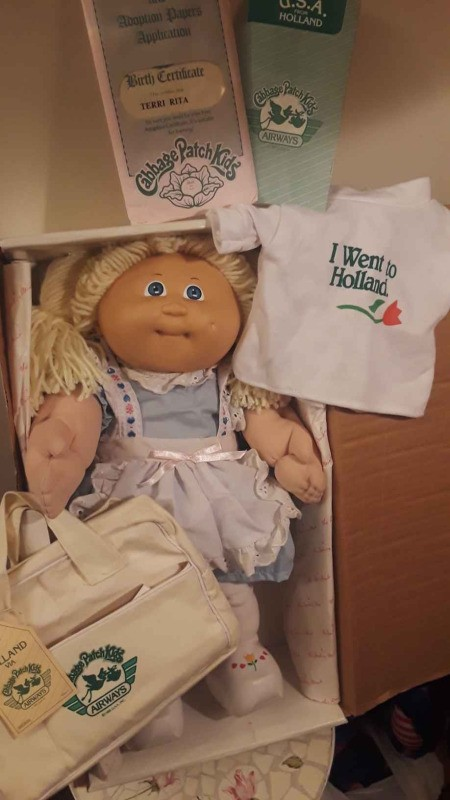 Value of a 1985 Xavier Holland Cabbage Patch Doll