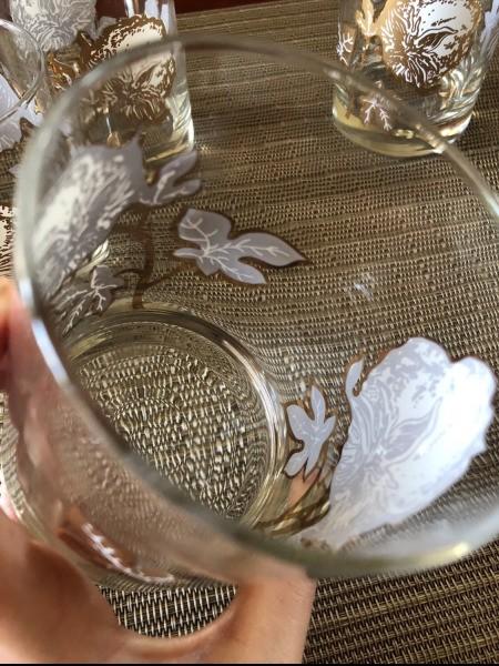 Identifying Vintage Lowball Glasses