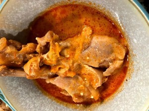 Butter Chicken in bowl