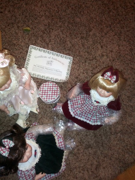 Value of Heritage Signature Collection Dolls