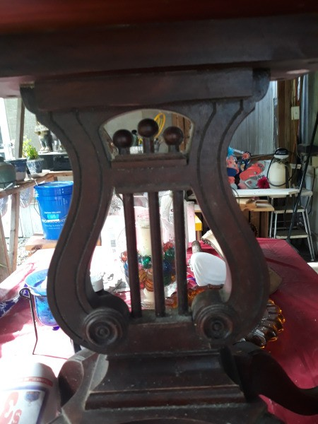 Value of a Vintage Lyre Table
