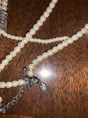 Identifying the Brand on a Pearl Necklace - necklace and clasp