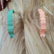 Making a Paper Worm Race Game - get your straws and let the race begin