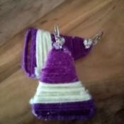 Paper Clip Earrings - ready to wear