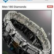 Value of Men's Diamond Bracelet