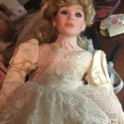 Value of a Betty Jane Carter Doll - bride doll