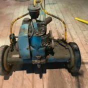 Value of an Antique Johnson Rotary Mower