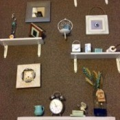 Inspiration Wall Arrangement and Decor - wall decor with shelves