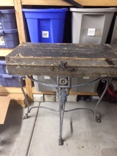 Vintage Tool Box Display